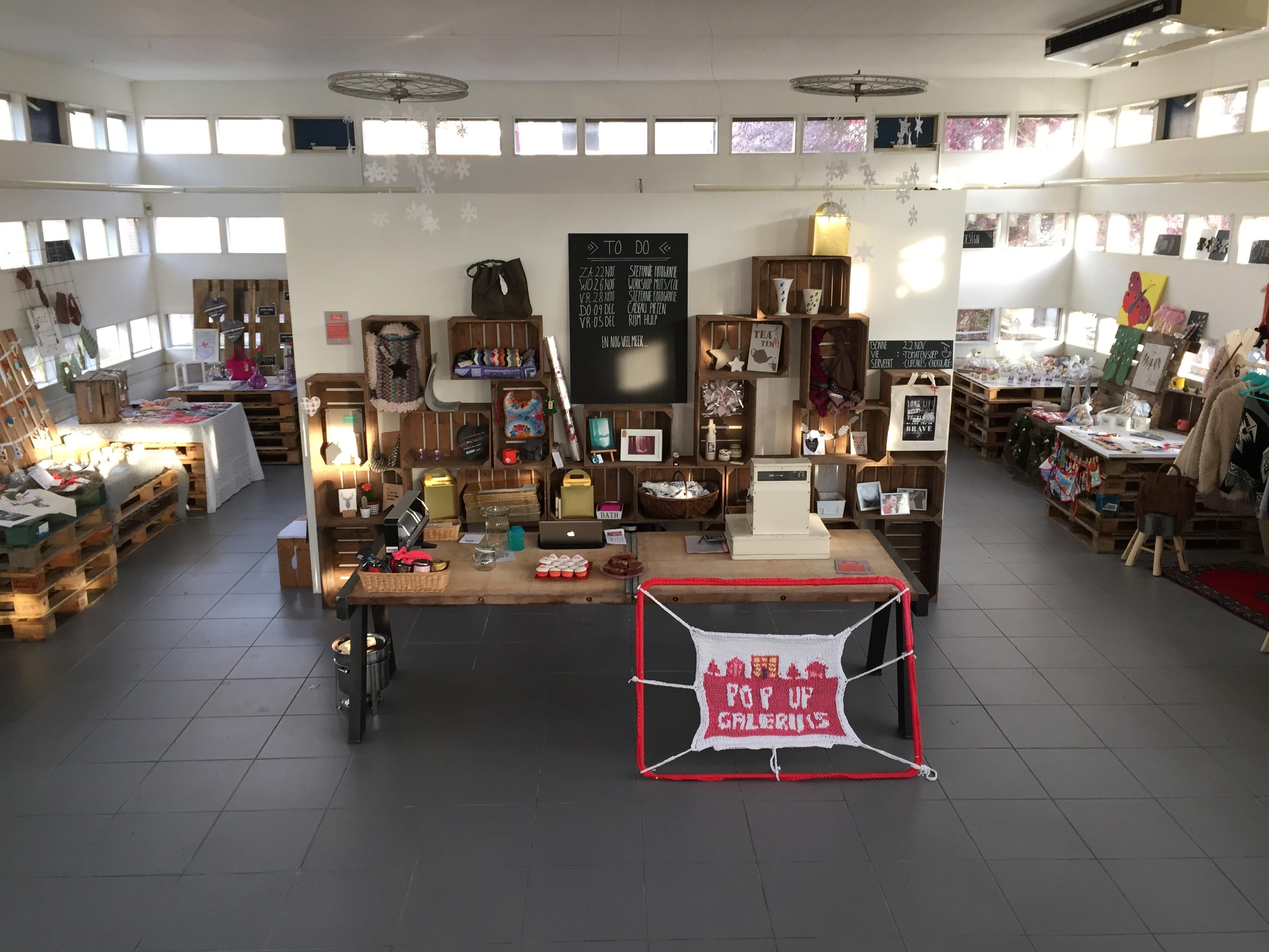Pop-up store Galerij 15