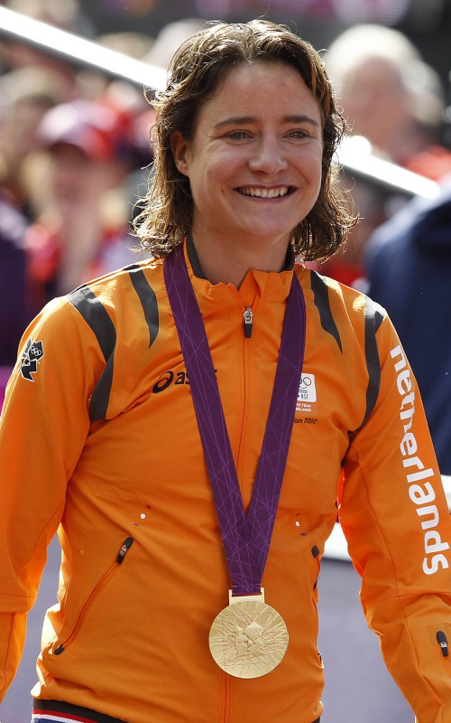 London - England - wielrennen - cycling - radsport - cyclisme - Marianne Vos (NED)  pictured during  road race elite women Olympic Games 2012 - foto Cor Vos ©2012 *** local caption *** 00906638