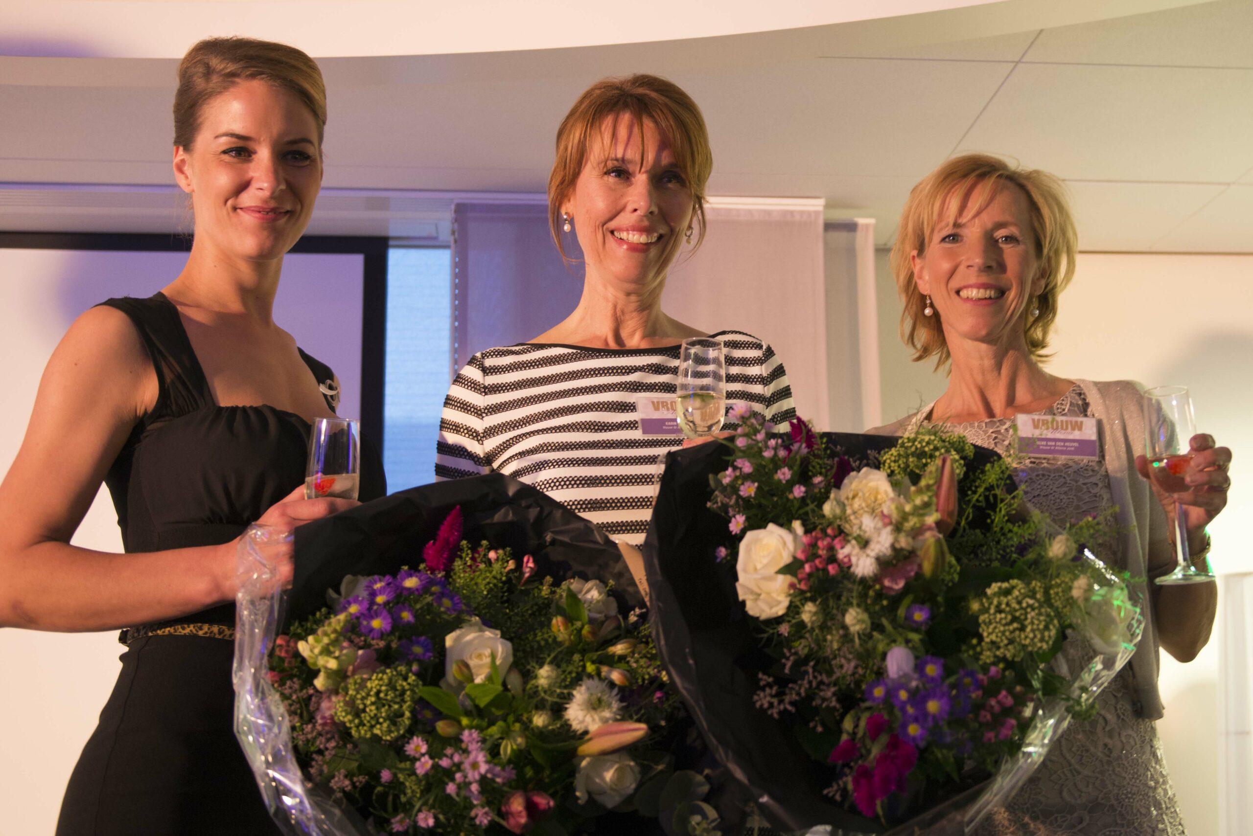 Martine Beijer winnaar Ondernemende Vrouw van Altena 2016