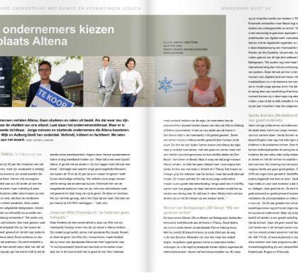 Jonge ondernemers kiezen standplaats Altena