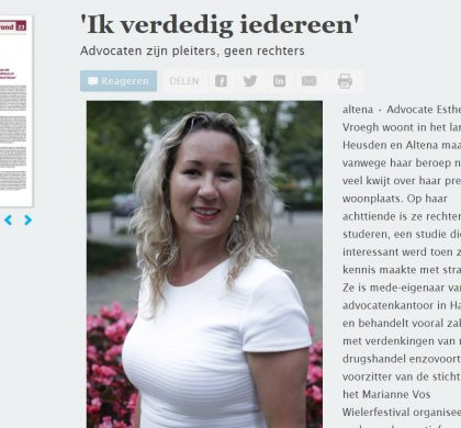 Ambassadeur Esther Vroegh vertelt verhaal in Kontakt