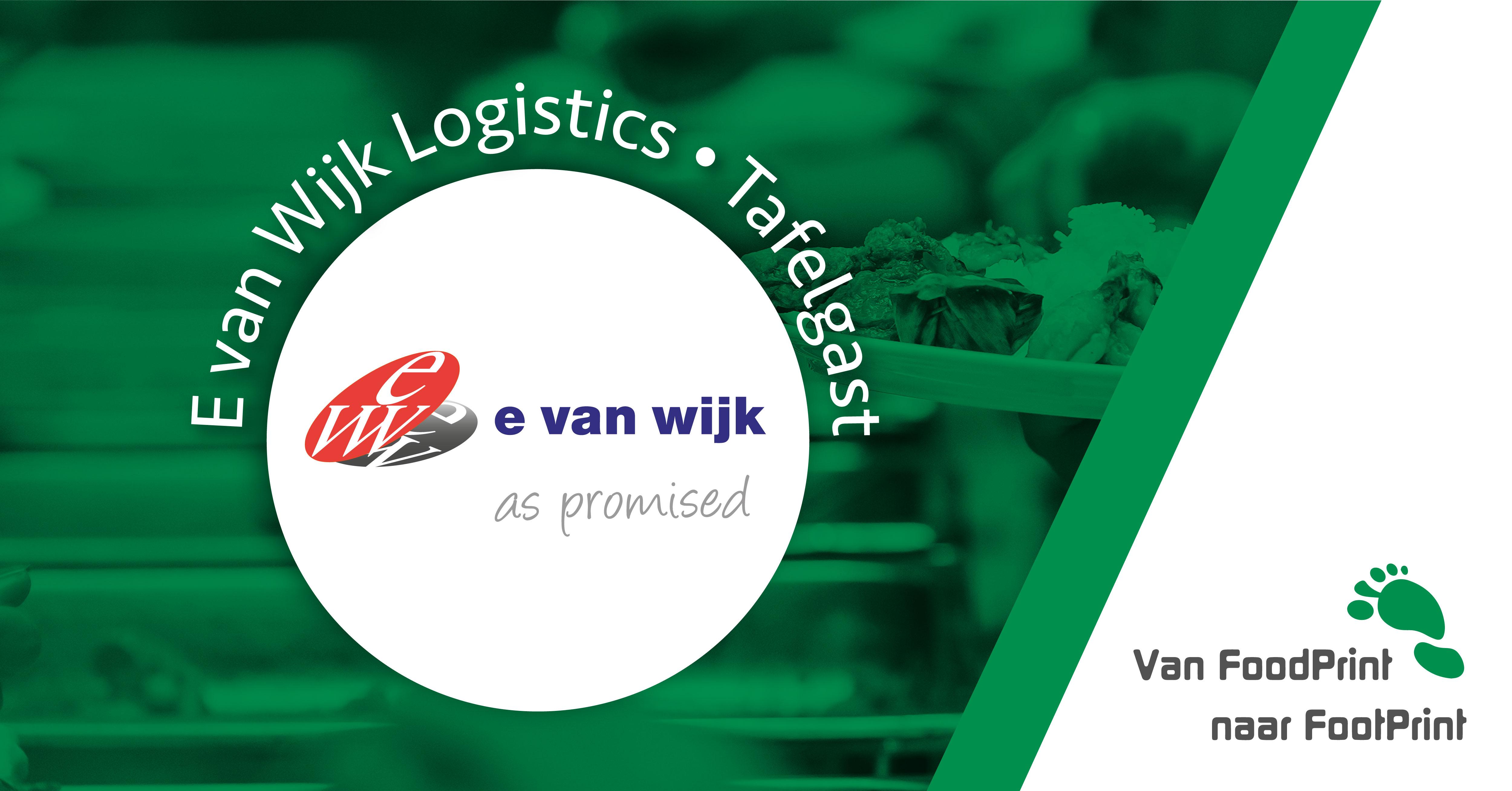 E. van Wijk is letterlijk en figuurlijk 'Always on the move'