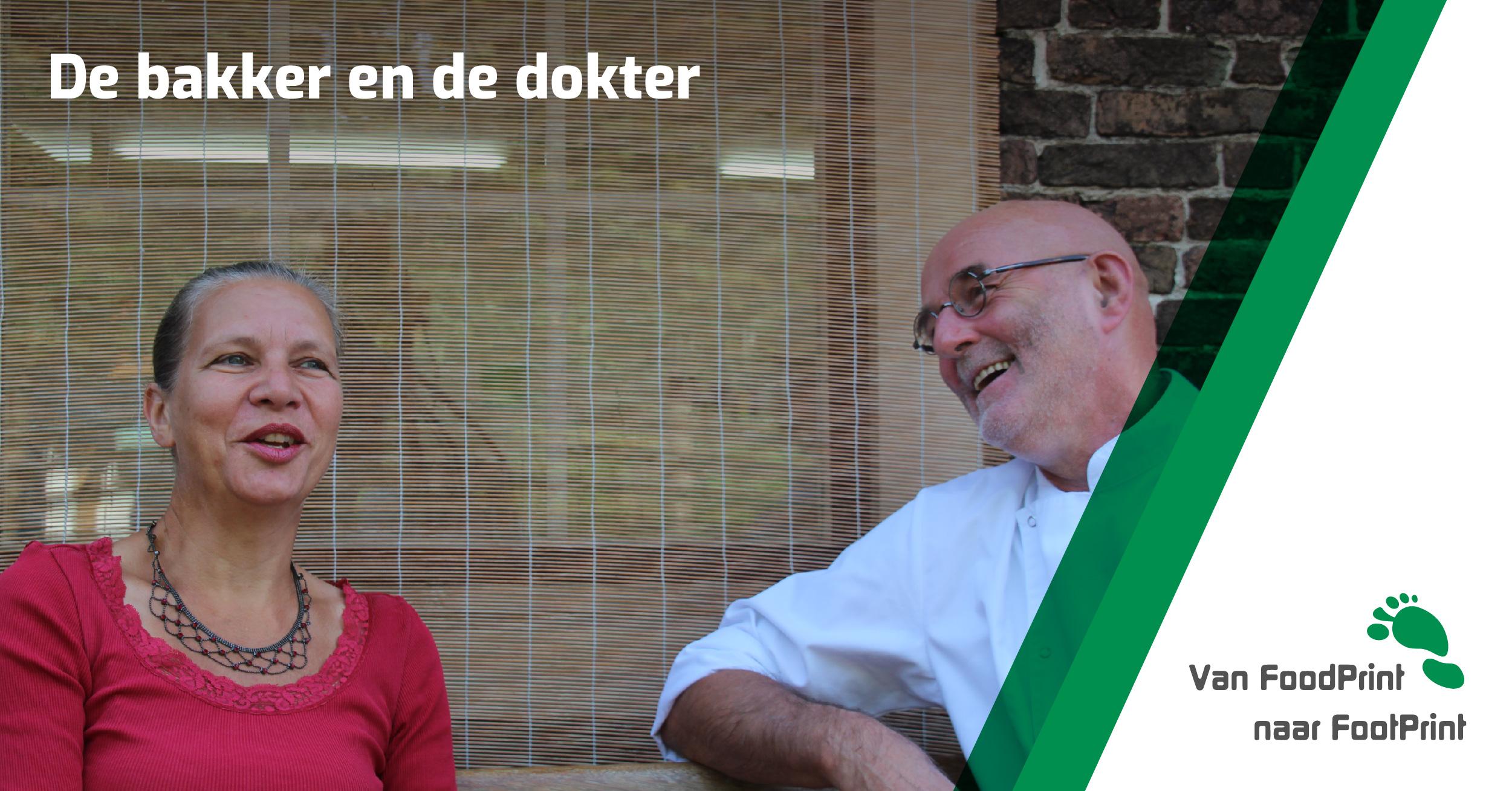 Bakker Gerard Hardeman en natuurarts Trudy Vlot over hun samenwerking