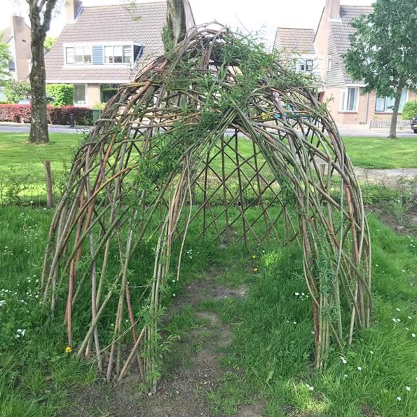 Picknick en opening natuurtuin bij De Werf in Woudrichem