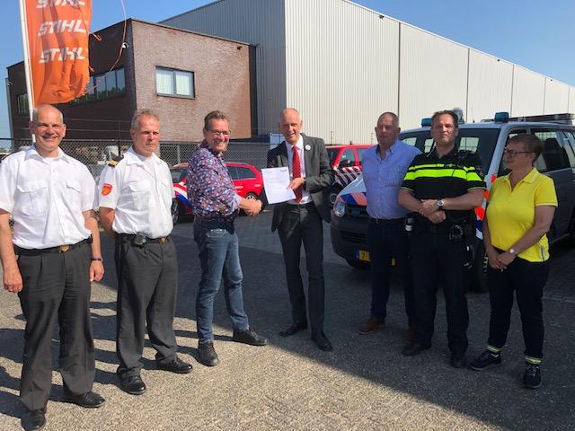 Opnieuw certificaat Keurmerk Veilig Ondernemen voor bedrijventerrein Bruine Kilhaven te Werkendam