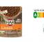 Eerste HAK groenten en peulvruchten met voedselkeuzelogo Nutri-Score in schap van supermarkt