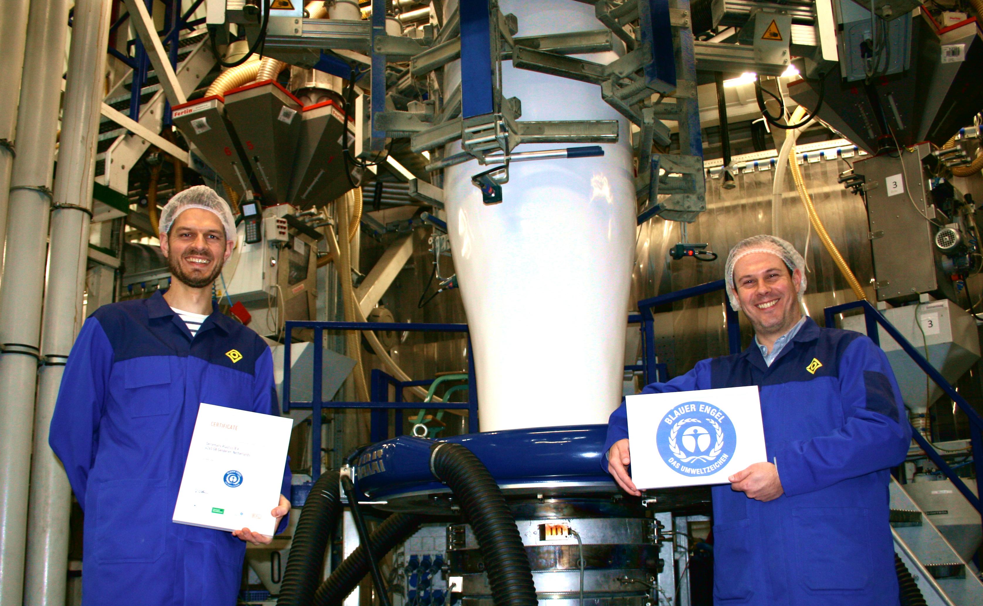 Oerlemans Packaging behaalt ecolabel Blauer Engel