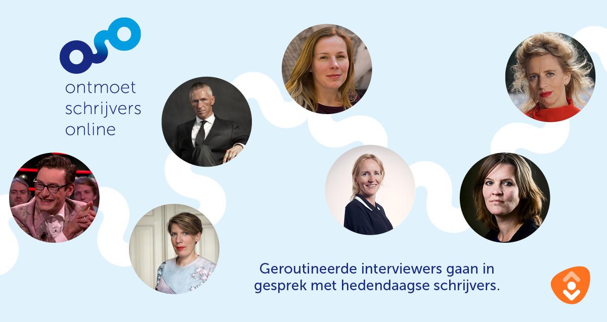 Bibliotheken organiseren online interviews met schrijvers