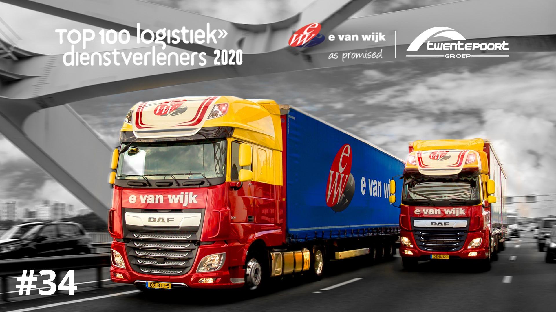 Reuzensprong voor Logistiek Dienstverlener E. van Wijk