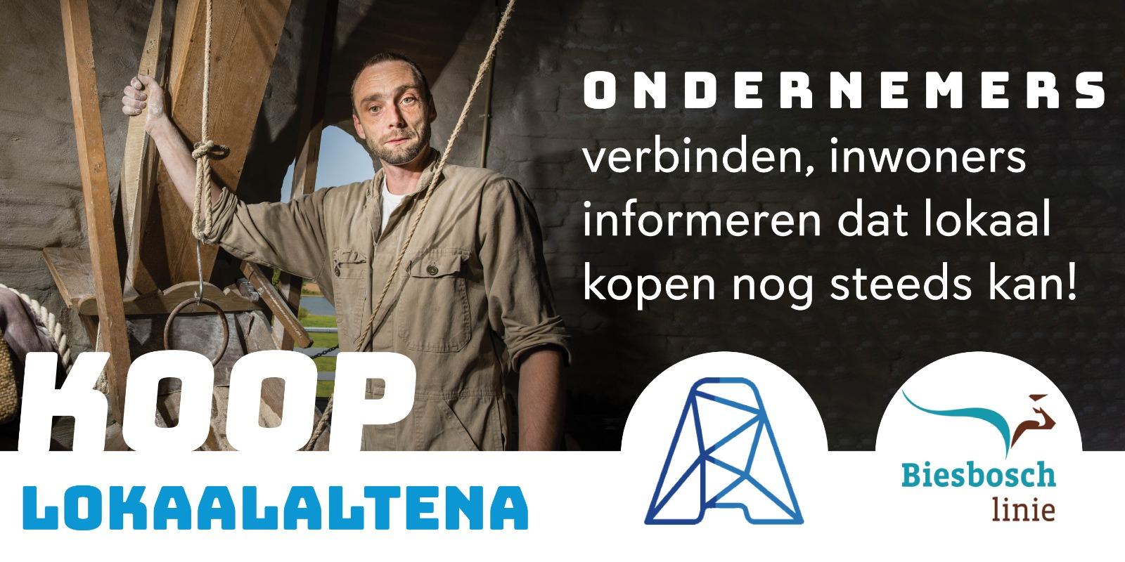 Koop LokaalAltena, een samenwerking tussen Ondernemershuis Altena en BeleefAltena.
