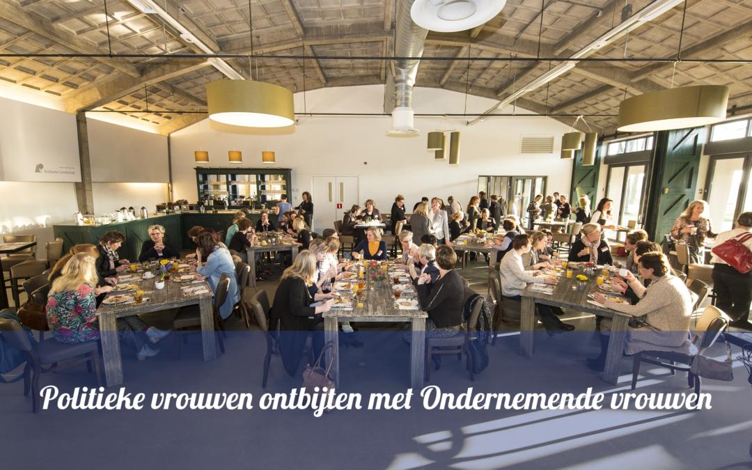 Ontbijten met Vrouwelijke ondernemers